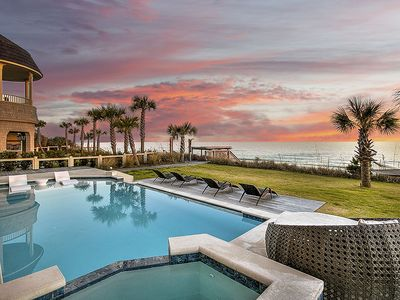 Photo for Stunning Gulf Front Mansion in Seagrove Beach with Private Pool and Beach Access!