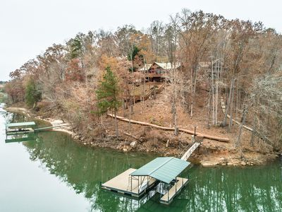 Photo for Lake Hartwell Mountain Home with Stunning Views and Deep Water Private Dock