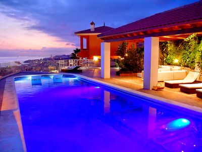 Photo for Villa with panoramic sea view