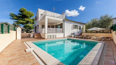Photo for Villa Ava - Modern and Spacious Villa with Heated Private Pool and close to Old Town Alcudia and Beaches ! - Free WiFi