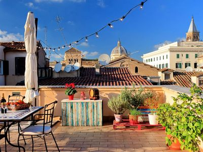 Photo for Stunning Rooftop Terrace! Perfect for Families & Groups