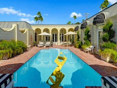 Photo for Elegant and Secluded Hollywood Regency Home in Deepwell - La Petite Maison