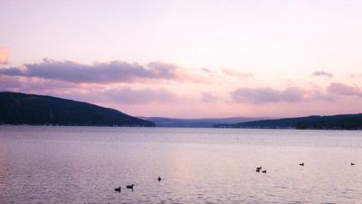 Photo for Keuka Lake front home with stunning view down the lake