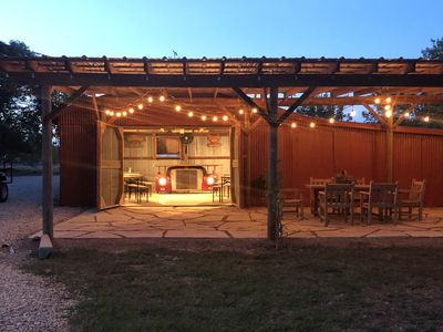 Photo for Comfort Acres on the Guadaupe River Ranch House and Small Party Barn!