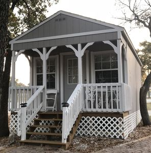 Photo for Lakefront Cabin! Perfect for the close by quick get-away or temp living!
