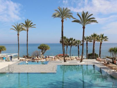 Photo for One bedroom Apartment, sleeps 4 in Torremolinos with Pool, Air Con and WiFi
