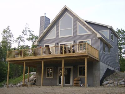 Photo for Beautiful chalet minutes from Acadia located in a private setting