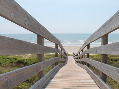 Photo for 35% discount, Remodeled after hurricane, Closest to the Beach, private boardwalk