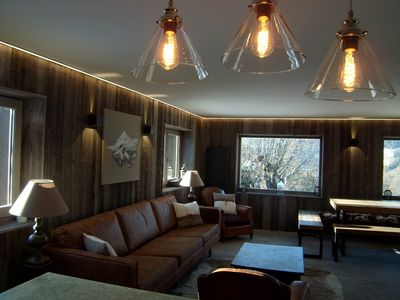 Photo for Duplex apartment 11 persons in a chalet, in the center of the village, wifi