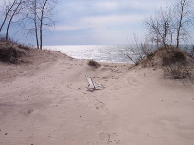 So beautiful and peaceful on the dunes near the Great Lake Ontario.