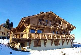 Huge Chalet In Combloux, superb view of Mt Blanc, in Megeve/St Gervais ski area