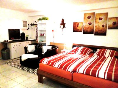 Photo for Quiet apartment near Hamburg for 2 people, near the Elbe, WiFi