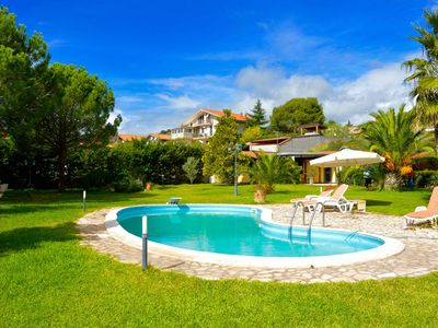 Photo for Villa Ninfea - villa on the slopes of Etna with big garden and pool