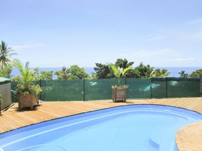 Photo for Charming furnished with pool, sea view, 2/4 people comfortably