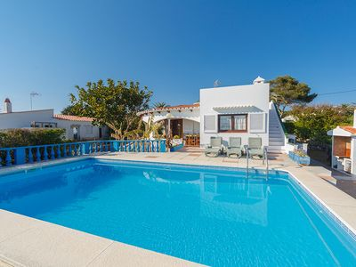 Photo for Villa in Binibeca Vell with partial views and with walking distance to the beach