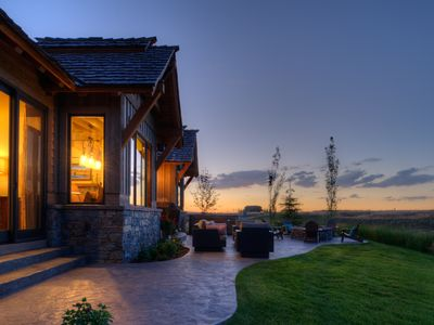 Photo for Spectacular 5 Bedroom Home On 7th Hole At Huntsman Springs Resort