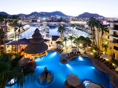Photo for BEST MARINA&POOL VIEW LUXE JR SUITE (STUDIO) IN CABO