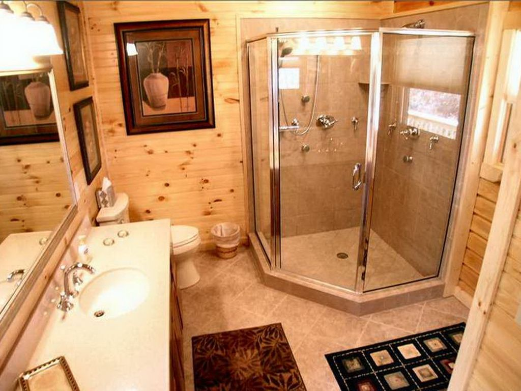 in the cabins bedroom our s reel with luxury tub tour exterior harman log hot at wv retreat cabin