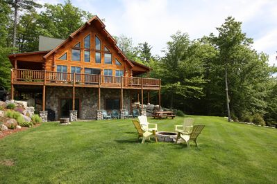 Join around the fire pit, grill under the deck, enjoy a picnic or lawn games!