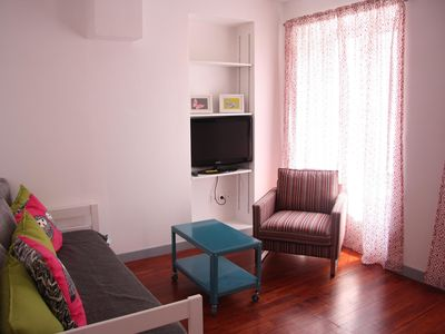 Photo for CHARMING 3 ROOMS WITH TERRACE IN FULL CITY CENTER