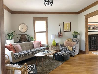 Cheerful living room