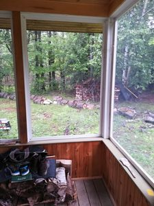 Photo for A cottage experience nestled in the woods of the hills of Bradford NH.