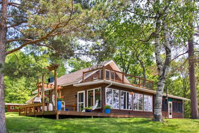 Have the perfect lake getaway at this Brainerd vacation rental house!