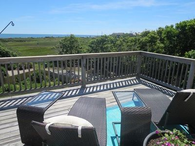 Photo for Summer Wind - Remodeled Seaside home. Steps to beach. Views!