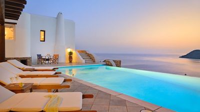 Photo for Dini Sunset Villa Mykonos 4br upto 10guests Private Pool