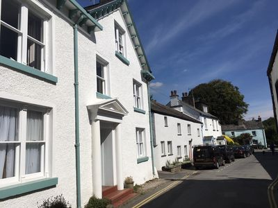 Photo for Unique apartment in Cartmel centre. Unrivalled location.Garden.Fab views.Sleeps4