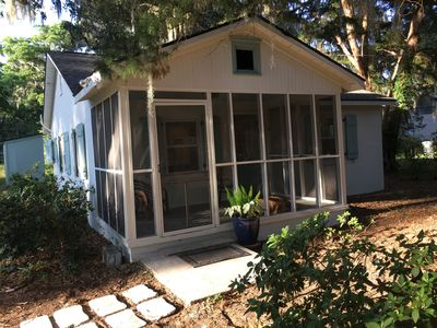 Photo for Charming Cottage - Completely Renovated.  Close To Downtown Savannah And Tybee