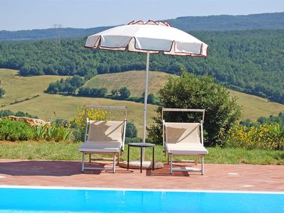 Photo for Wonderful family Chalet, with swimming pool and panoramic terrace