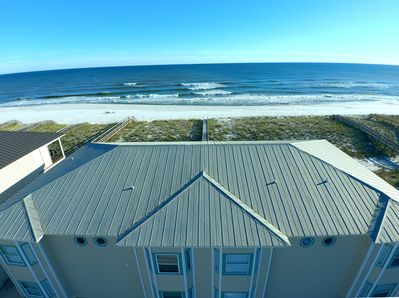 """Aerial view of your """"backyard"""", the Gulf"""