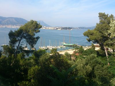 Photo for Apartment in A French Villa with a 360° View On The Sea- Côte D'Azur