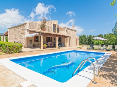 Photo for FINCA MIRALLES - Villa with private pool in Buger.