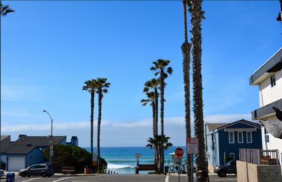 Photo for Spacious Condo w/ Balcony- 1 Block from Ocean- Sleeps up to 8- Private Garage