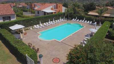 Photo for Seaside villas with swimming pool 2500 sq. spaces wi-fi, ideal to visit Sicily
