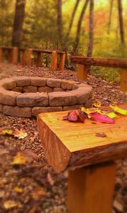 Photo for Outdoor Firepit - Secluded 1 Bedroom Near All The Fun