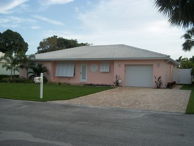Photo for 2 Blocks from the Beach!  Newly Renovated Beautiful Pool Home! Singer Island