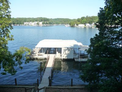 Photo for 3BR/2BA Family Friendly Lake of the Ozarks Home with Dock & Spectacular View