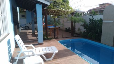 Photo for Beautiful house with 5 suites on the beach near Guarajuba in a gated community.