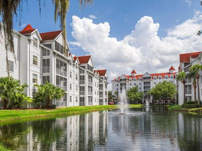 Photo for Lakefront Resort w/ Pools, Beach, Watersports, WiFi & Just 2 Miles From Disney!