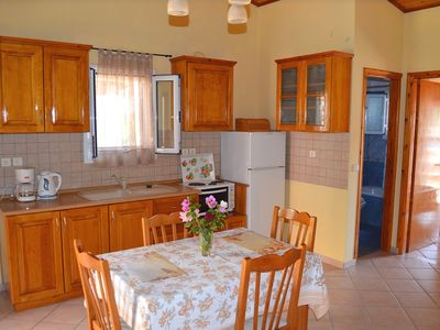 Photo for Vasilis apartment, paramonas beach, 20 meters from the beach
