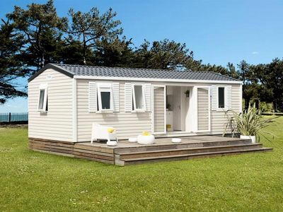 Photo for Camping Domaine de Pont Mahé *** - Mobile home Super Cordelia 4 Rooms 6 People