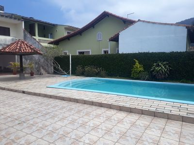 Photo for Beach house, super equipped, with pool, barbecue and plenty of space