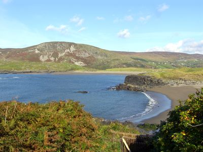Glencolumbkille beach from the property