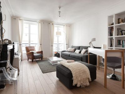 Photo for Rue de Provence II - luxury 3 bedrooms serviced apartment - Travel Keys