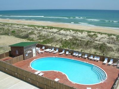 Photo for 2 BR/2 BA Hatteras Top Floor Oceanfront Condo