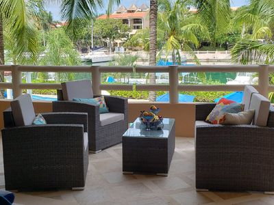 Photo for Marina View waterfront Condo with resort style pool