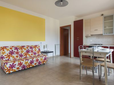 Photo for Ogliarola 19 apartment in Livorno with WiFi, integrated air conditioning & private parking.
